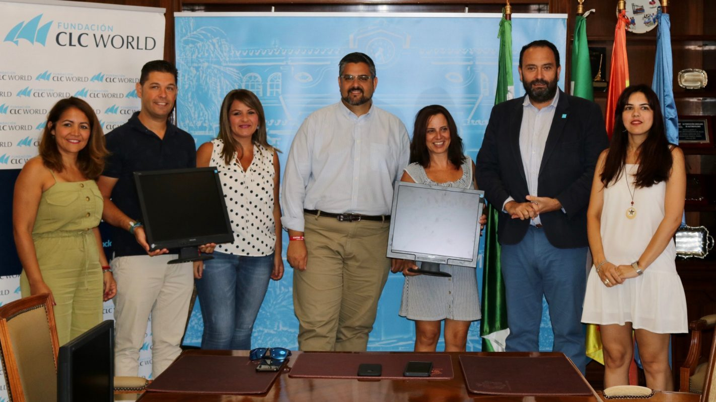Donation of IT equipment to local charities